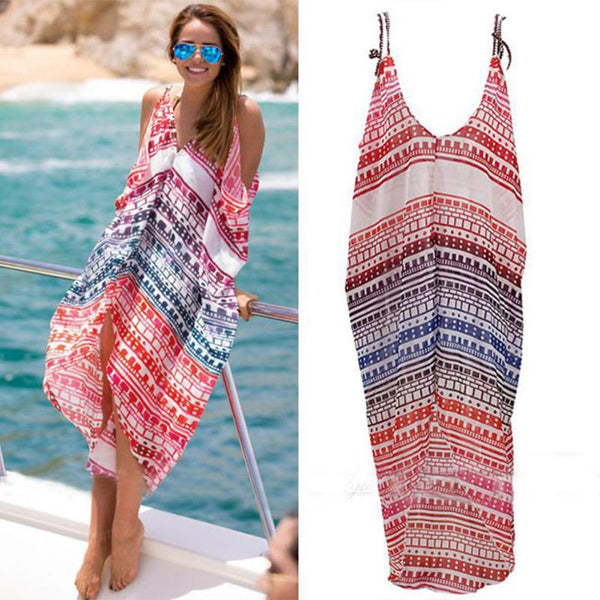 Beautiful Sexy Bohemian Summer Beach Dress for all summer - Free Shipping