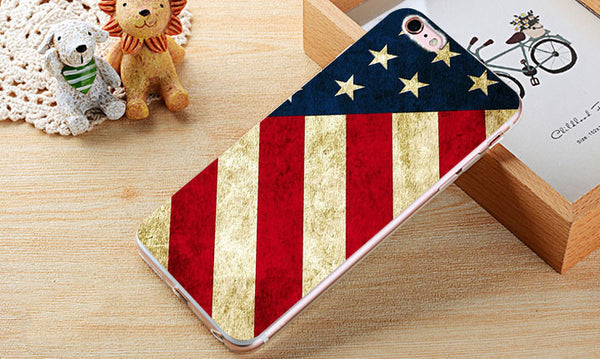 4th Of July  Silicone Phone Case Cover for all iPhone