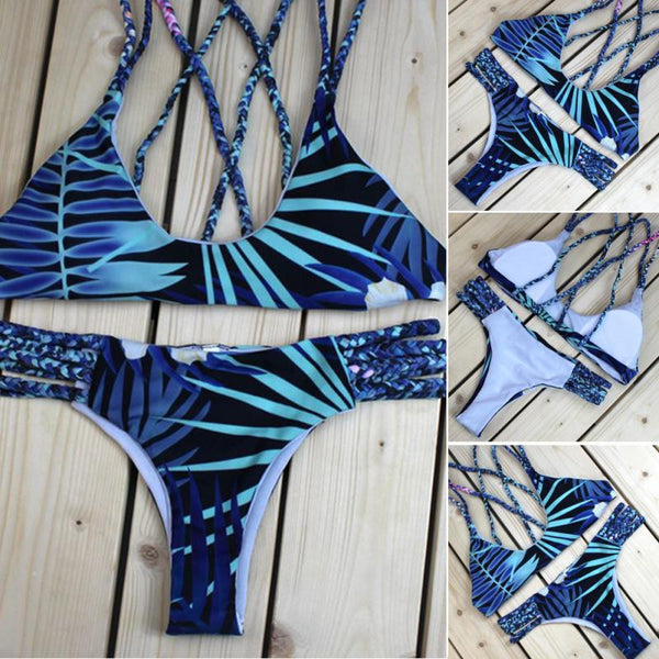 Print Bikini Bathing Suits two pieces