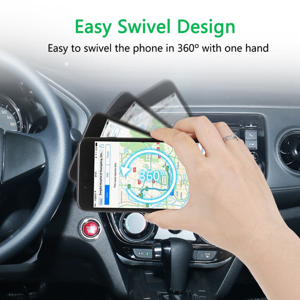 Magnetic Car phone holder - Air Vent Mount Docking for Smartphone