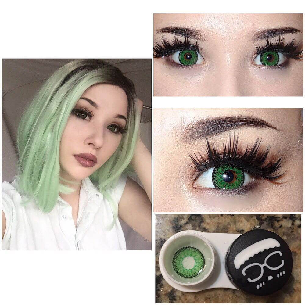 TTDeye Contacts Review - Mystery Green