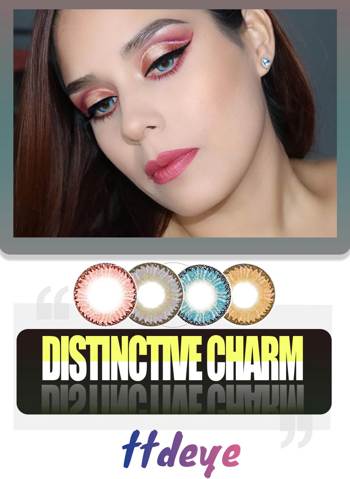 TTDeye Dodo Series Circle Lenses Display