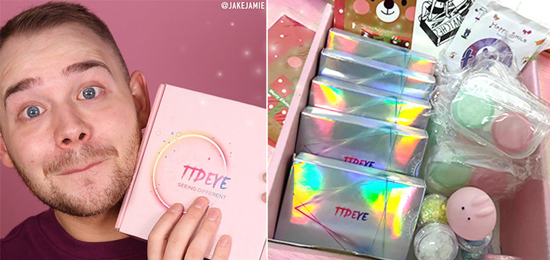 Beauty Boy-Jake Jamie Recommend TTDeye Queen Contact Lenses