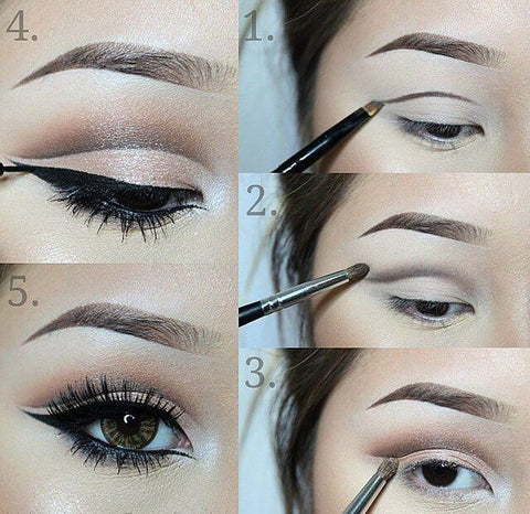 ... you the steps of a hooded eyes makeup with a picture, then I would like to talk about some details when we complete this make-up and some common errors ...