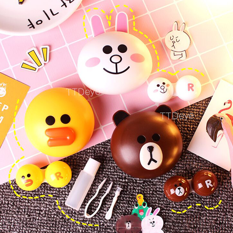 TTDeye Line Friends Lens Case