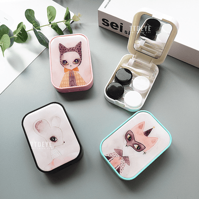 TTDeye Fox In Mask 2-in-1 Lens Case