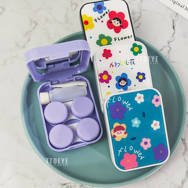 TTDeye Little Flowers 2-in-1 Lens Case