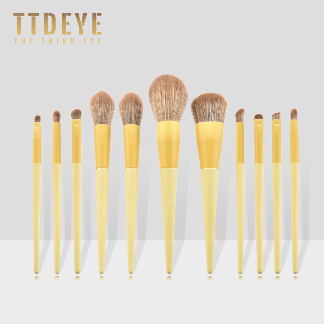 TTDeye Let's Picnic 11 Piece Brush Set