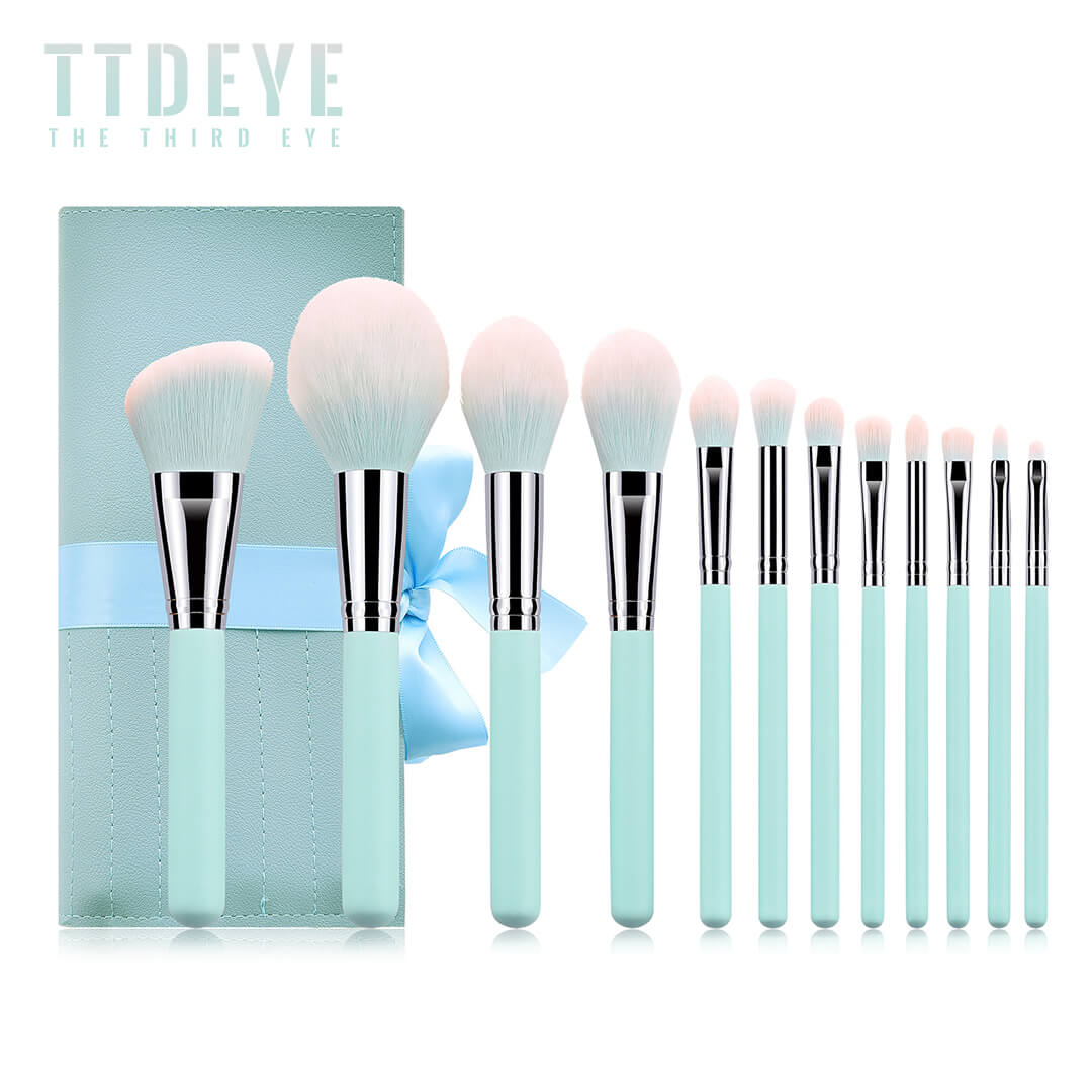 TTDeye Midsummer Night 12 Piece Brush Set