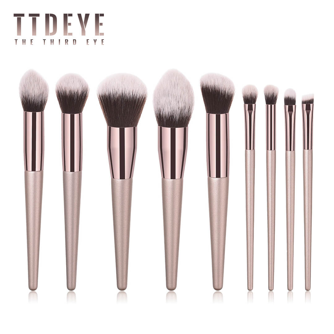 TTDeye Met Gala II 9 Piece Brush Set