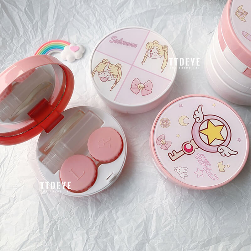 TTDeye SailorMoon Round Lens Case