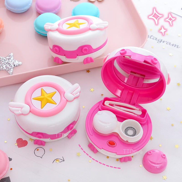 TTDeye Cardcaptor Sakura Wings Contact Lenses Auto-washer