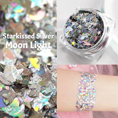 TTDeye Starkissed Silver Moon Light Glitter Gel