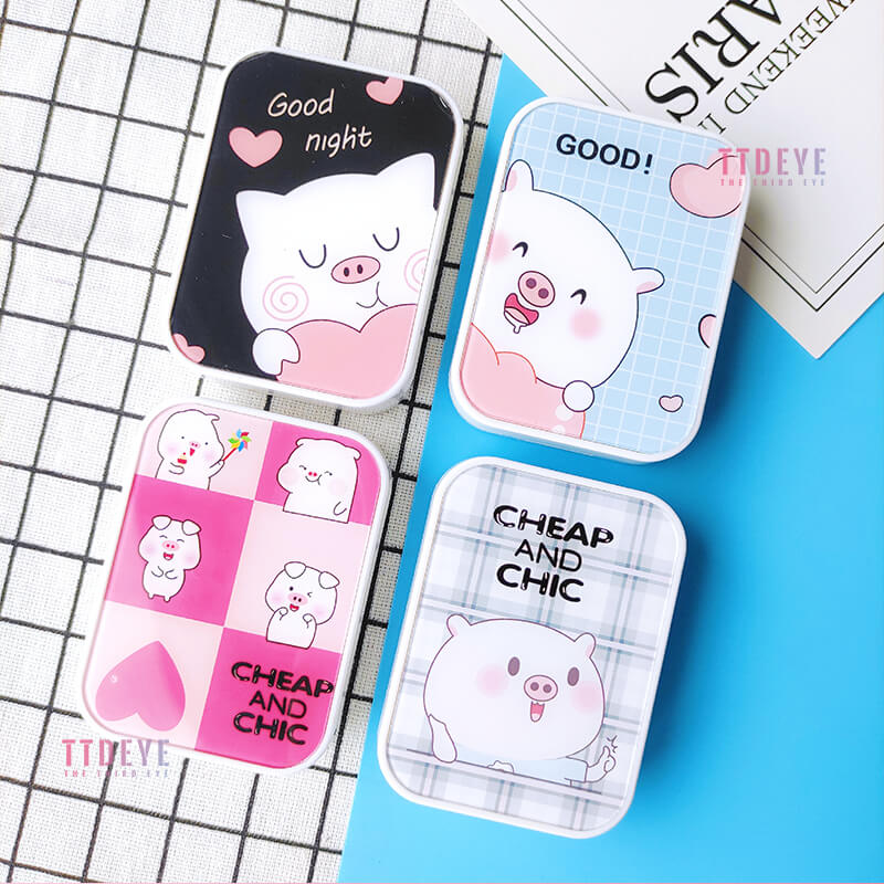 TTDeye Lovely Piggy 2-in-1 Lens Case