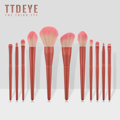 TTDeye Girl with a Pearl Earring 11 Piece Brush Set