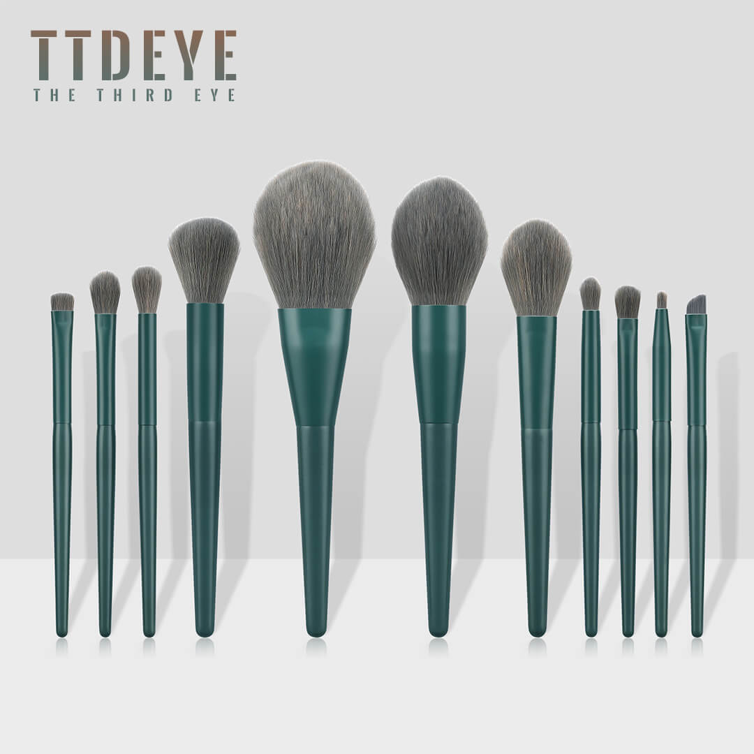 TTDeye Nymphéas of Monet 11 Piece Brush Set