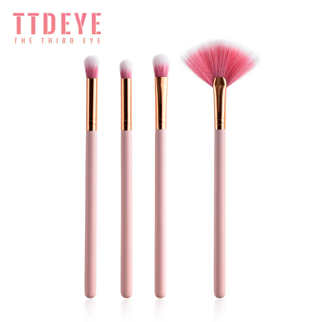 TTDeye Fan Dance 4 Piece Brush Set