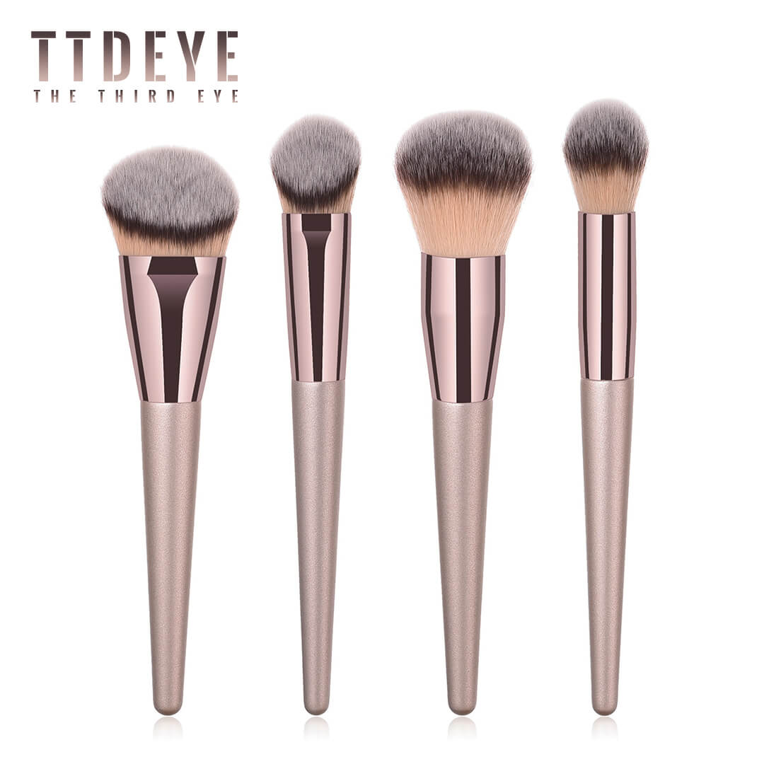 TTDeye Met Gala 4 Piece Complexion Brush Set