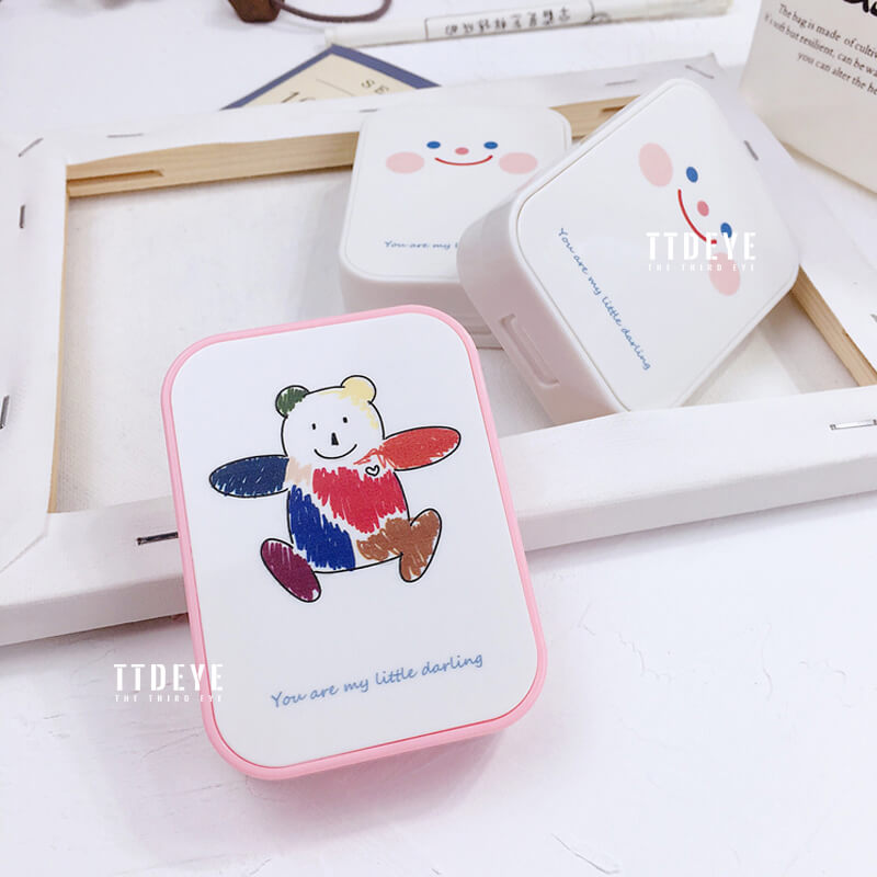 TTDeye Smile Bear II 2-in-1 Lens Case