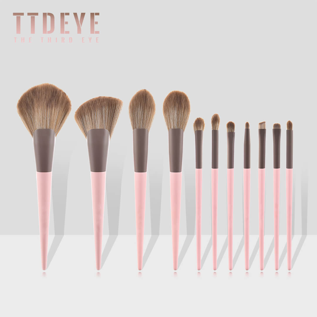 TTDeye Fuji Sakura 11 Piece Brush Set