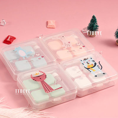 TTDeye Lovely Animals 2-in-1 Lens Case