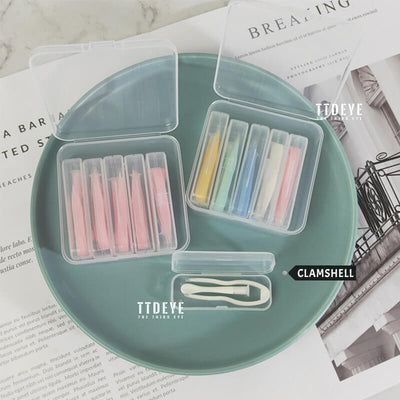 TTDeye Colorful 5-in-1 Contact Lens Tweezers Kit