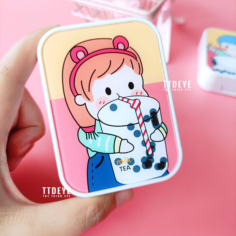 TTDeye Bubble Tea 2-in-1 Lens Case