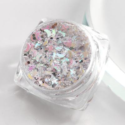 TTDeye Pearl White Moon Light Glitter Gel