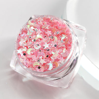 TTDeye Starkissed Pink Moon Light Glitter Gel