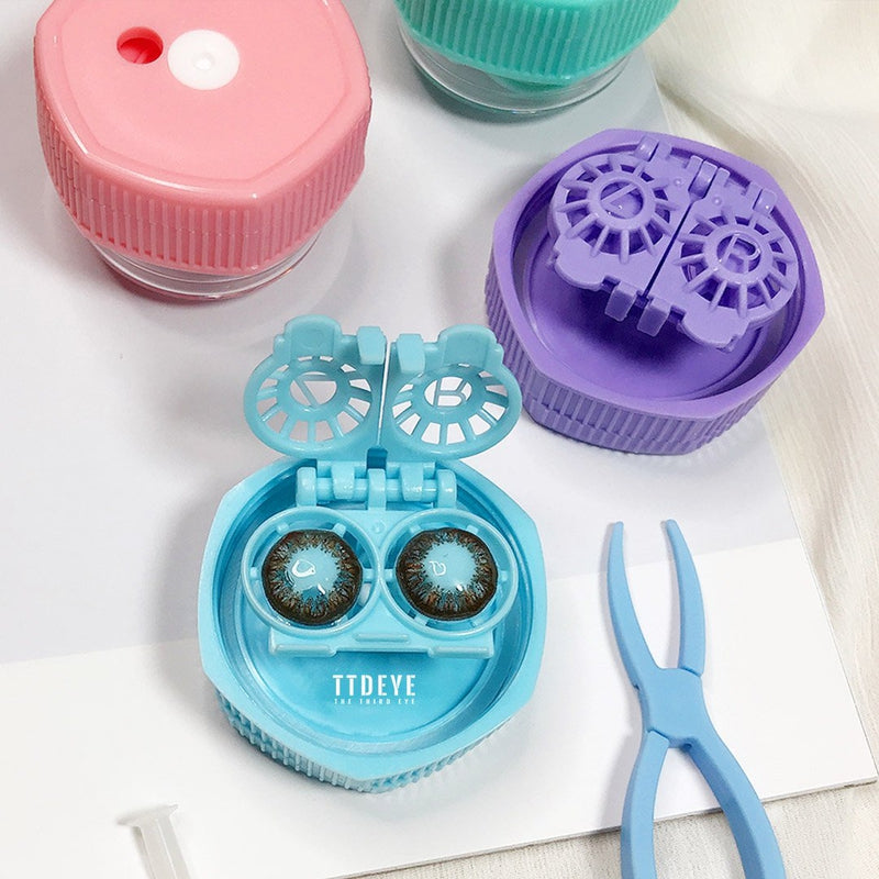 TTDeye Hexagon Contact Lenses Manual Washer