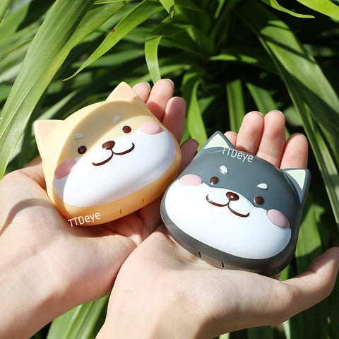 TTDeye brown shiba inu contact lens case online