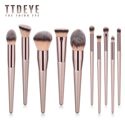 TTDeye Met Gala III 10 Piece Brush Set