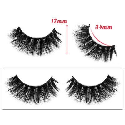 TTDeye Asian Doll Dramatic Round Eyelashes