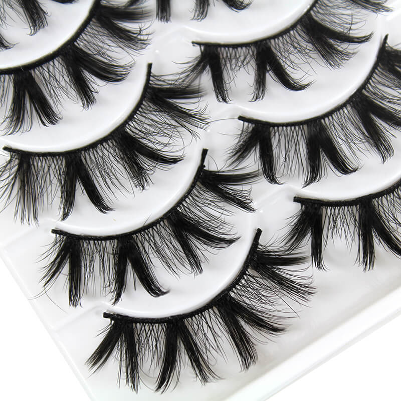TTDeye Bad Girl 5 Piece Dramatic Eyelashes