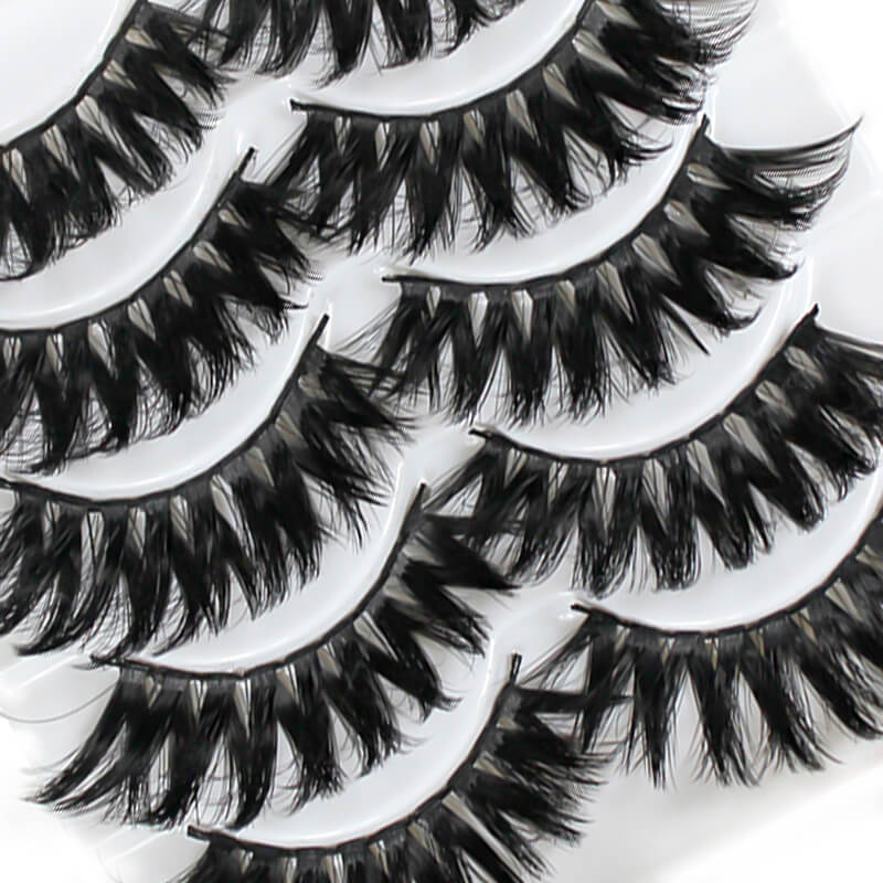 TTDeye Moonage Daydream 5 Piece Dramatic Eyelashes