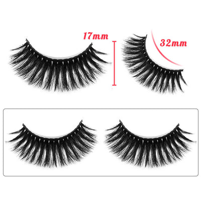 TTDeye Red Flamenco Dramatic Round Eyelashes