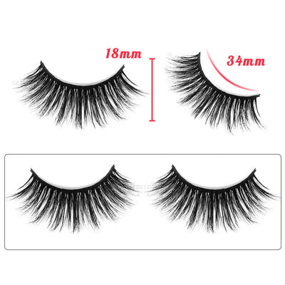 TTDeye Classic Beauty Dramatic Round Eyelashes