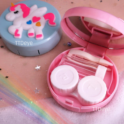 Unicorn Lens Case Inside