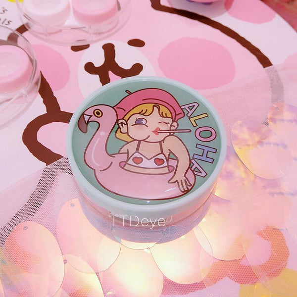 TTDeye Kawaii Girls Lens Case