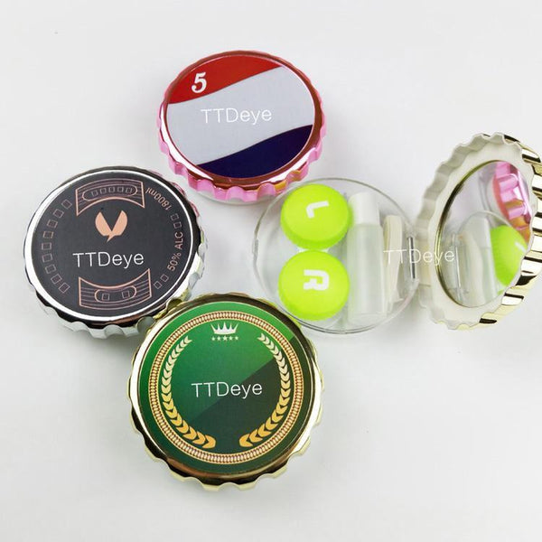 TTDeye Bottle Cap Lens Case