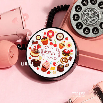 TTDeye Afternoon Tea Lens Case