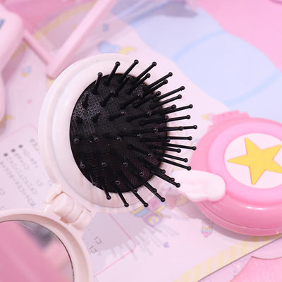 TTDeye Cardcaptor Sakura Wings Folding Cushion Brush