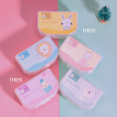 TTDeye Cartoon Animals Lens Case