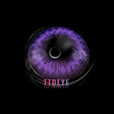 TTDeye Iris Purple II Colored Contact Lenses