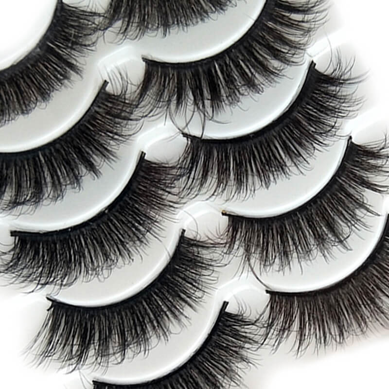 TTDeye Flirty Smile 5 Piece Dramatic Eyelashes