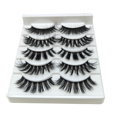 TTDeye Today's Luck 5 Piece Dramatic Eyelashes