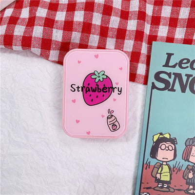 TTDeye Kawaii Strawberry II 2-in-1 Lens Case