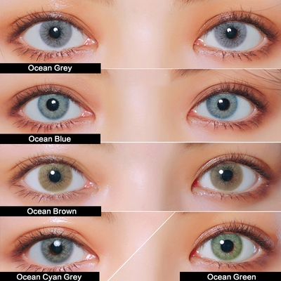 TTDeye Ocean Series Contact Lens Kit
