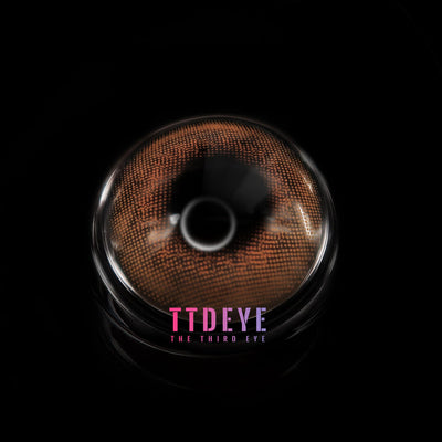 TTDeye Amber Brown Colored Contact Lenses