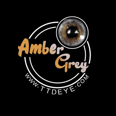 TTDeye Amber Grey Colored Contact Lenses